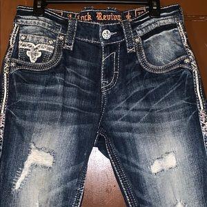 Authentic Rock Revival Jeans